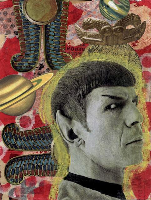 Collage -- TV Saint -- Spock