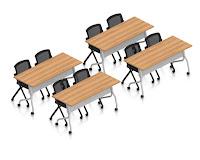 training room furniture set
