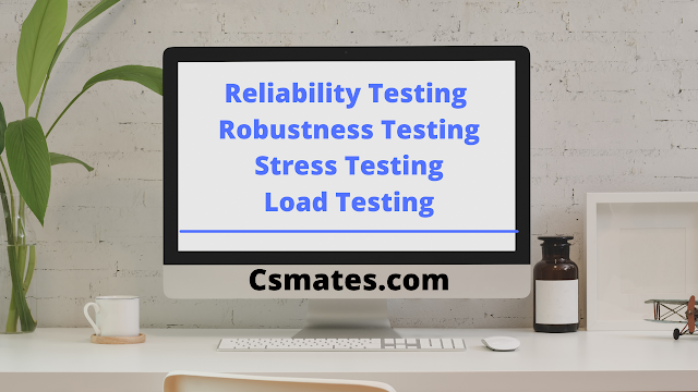 What is Reliability testing