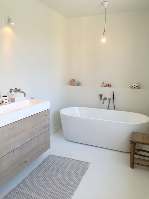 Solutions To Decorate Small Bathrooms 4