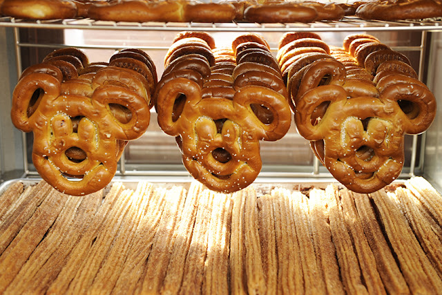 Pretzels do Mickey