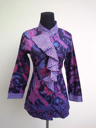 Model Baju Seragam Batik Guru Yang Elegan Dan Cantik