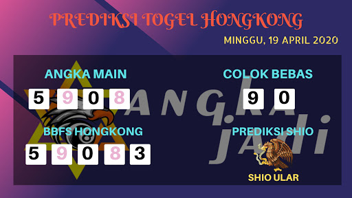 Prediksi HK 19 April 2020 - Prediksi Angka