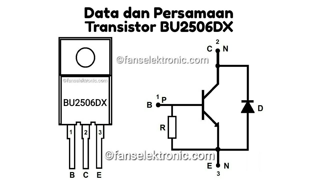 Persamaan Transistor BU2506DX