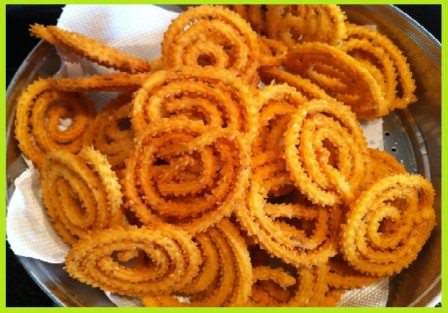 Murukku (Chakali) Recipe in Hindi