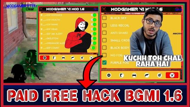 BGMI 1.6 HACK DOWNLOAD || BATTLEGROUND MOBILE INDIA 1.6 HACK DOWNLOAD