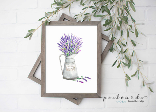 https://www.postcardsfromtheridge.com/2020/05/lavender-in-watering-can-printable-art.html