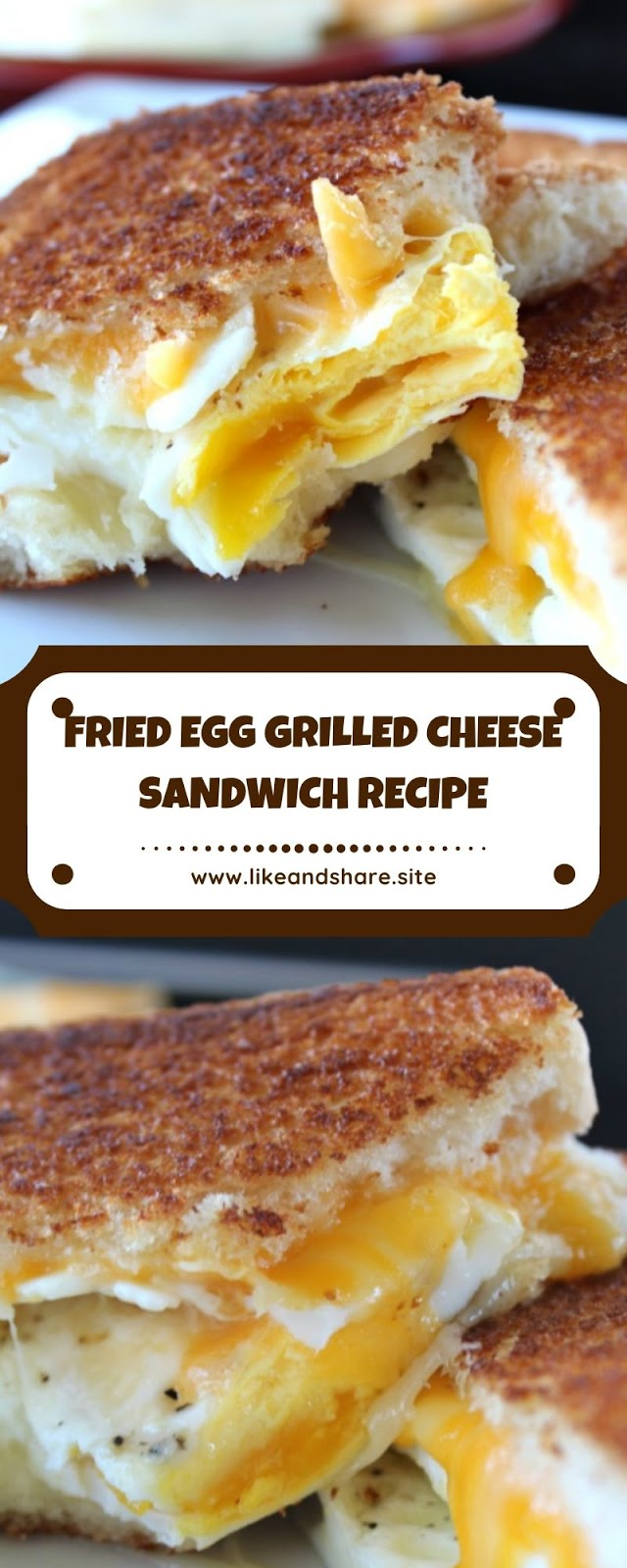 FRIED EGG GRILLED CHEESE SANDWICH RECIPE