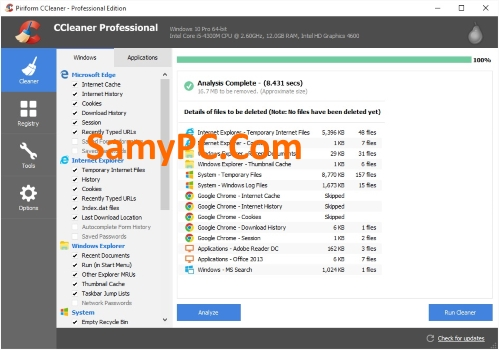 CCleaner Professional Plus Free Download Full Latest Version
