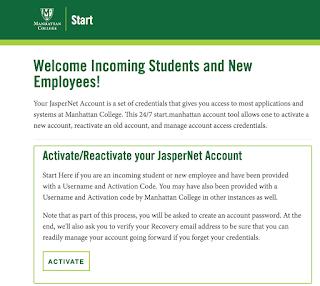 Screenshot of new Start. self-help tool