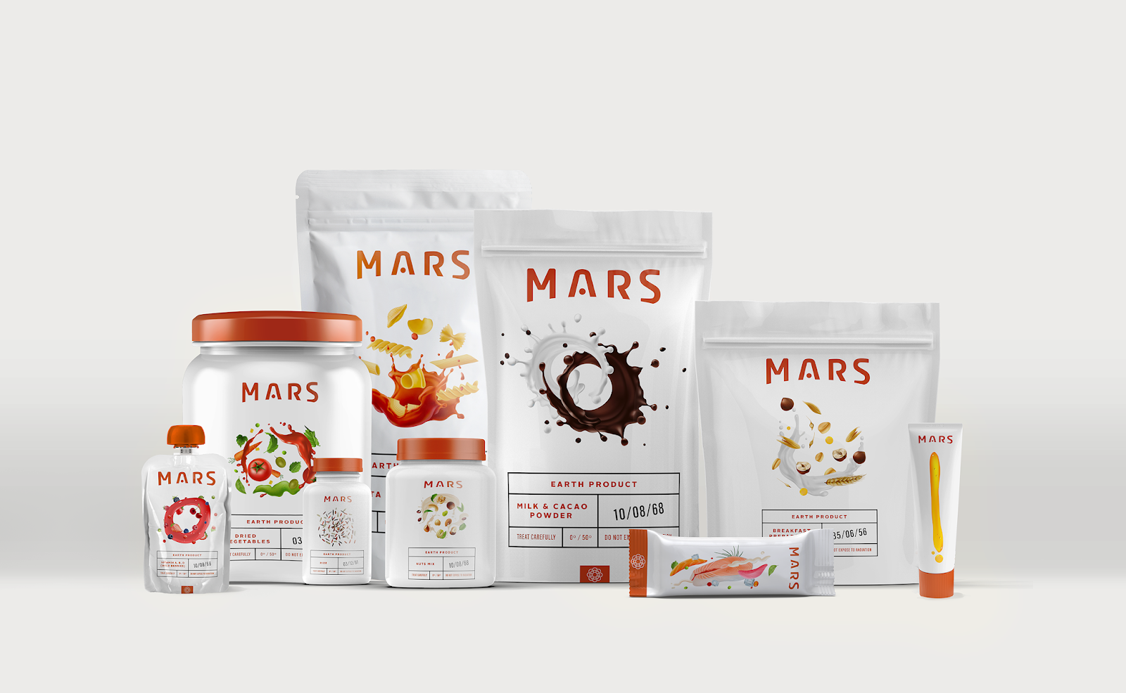 Mars Project II: Space Food Packaging Design on Packaging ...