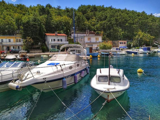 Chorwacja Północna, Jadranovo, okolice wyspy Krk