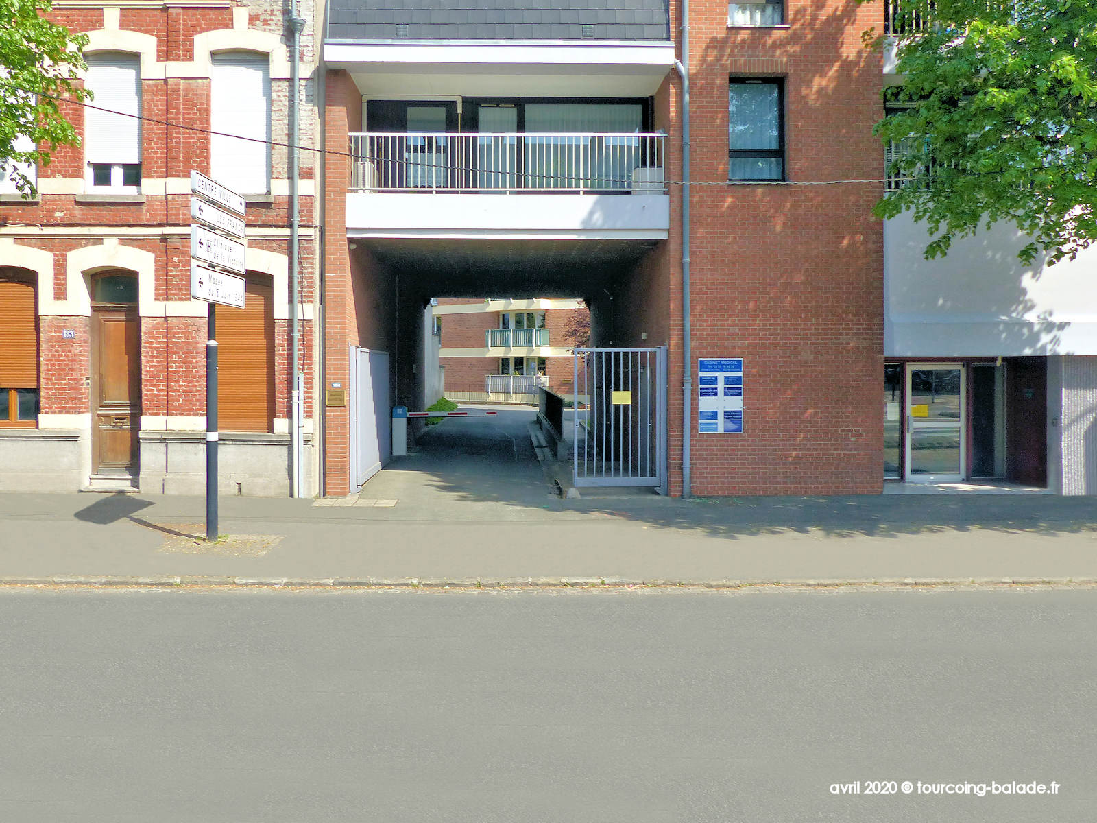 N°185 bis boulevard Gambetta, Tourcoing, 2020