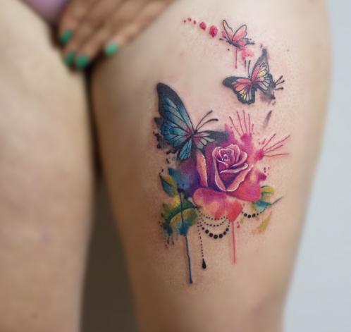 Cuál Es El Significado De Los Tatuajes De Mariposas