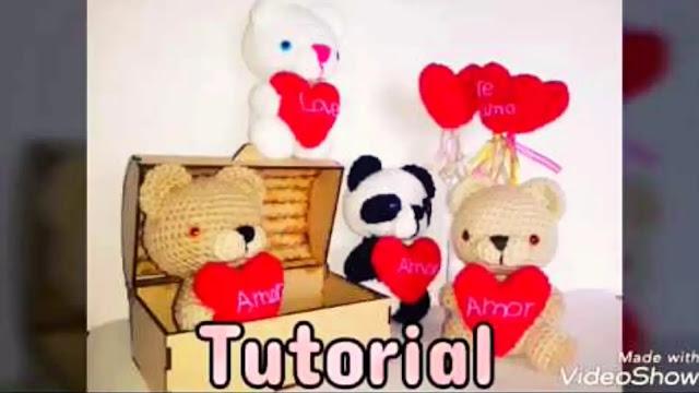 Amorosos Ositos Amigurumis a Crochet