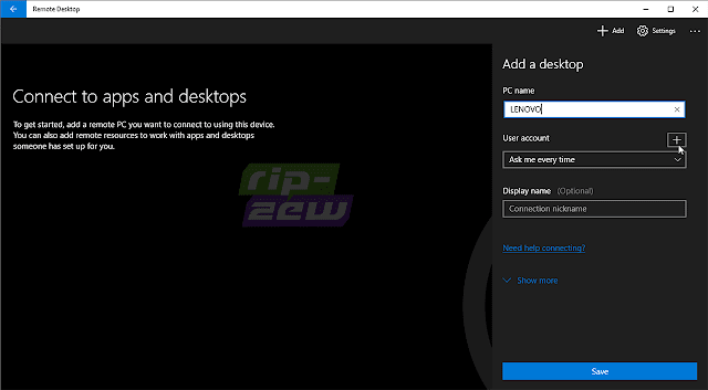 Microsoft Remote Desktop Assistant