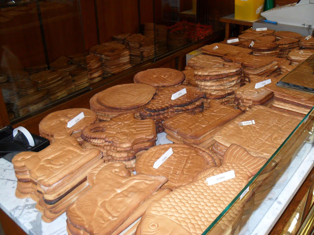 Couques de Dinant at a Dinant bakery