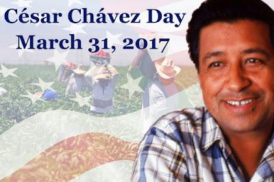https://en.wikipedia.org/wiki/Cesar_Chavez_Day