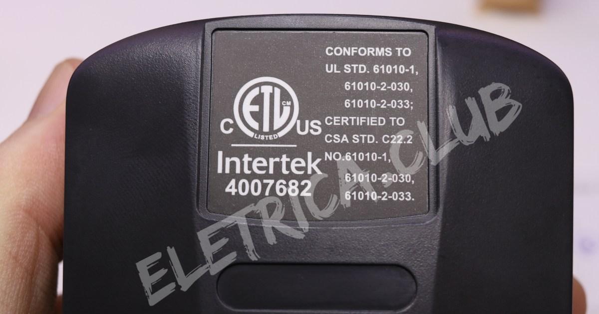 Multímetro True RMS UT139E com certificação CE e ETL