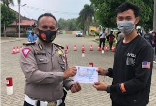 """Sat Lantas Polrestabes Medan Launching Aplikasi SIM Online """"Simon Mapan"""""""