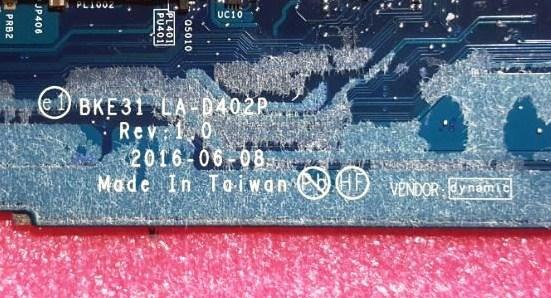 LA-D402P Rev 1.0 HP Spectre 13t-v100 BKE31 Bios + EC