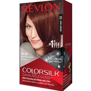 Revlon ColorSilk số 31 Dark Auburn thuốc nhuộm tóc hàng chính hãng Mỹ