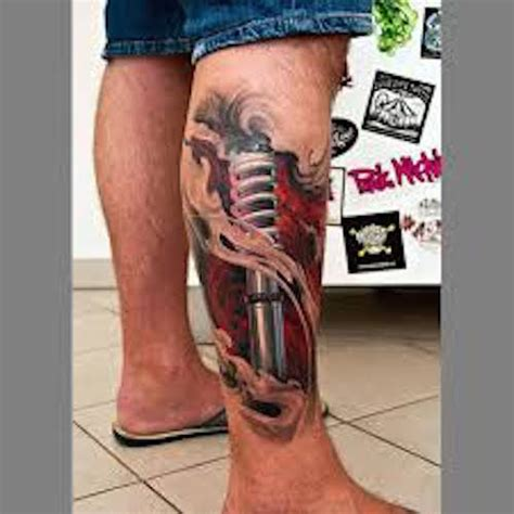 70+ Crazy 3D Tattoos That Will Twist Your Mind