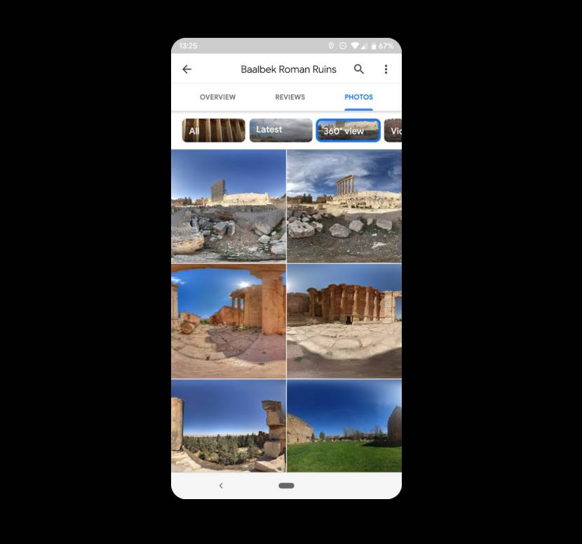 You can now select and browse 360-degree views in Google maps