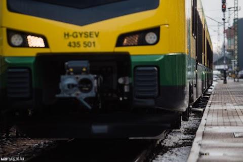 Ismét közlekednek a vonatok Kapuvár és Fertőszentmiklós között