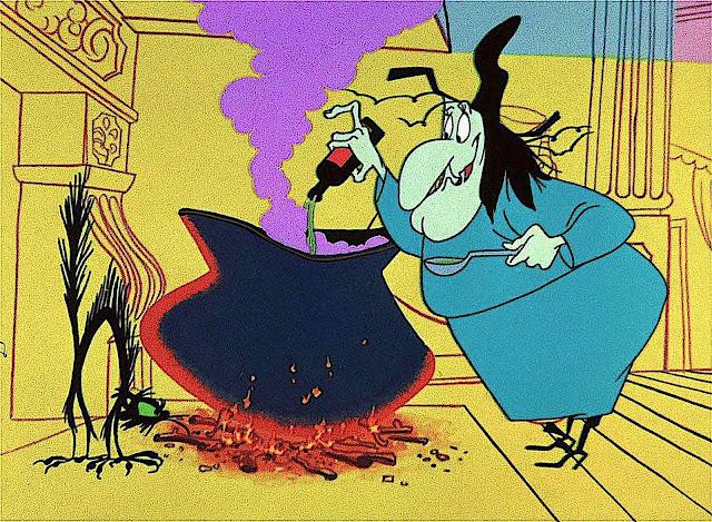 Warner Bros. Animation character 'Witch Hazel', Bugs Bunny
