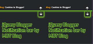 4) اضافة شريط اخباري اعلى المدونة