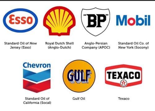 مجموعة الأخوات السبع النفطية