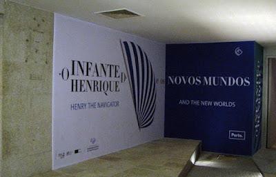 Entrada Centro Interpretativo dos Descobrimentos na Casa do Infante
