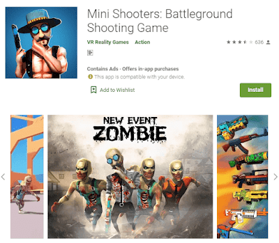 game mini shooters android