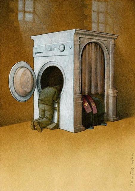 Ilustraciones divertidas y sarcásticas.