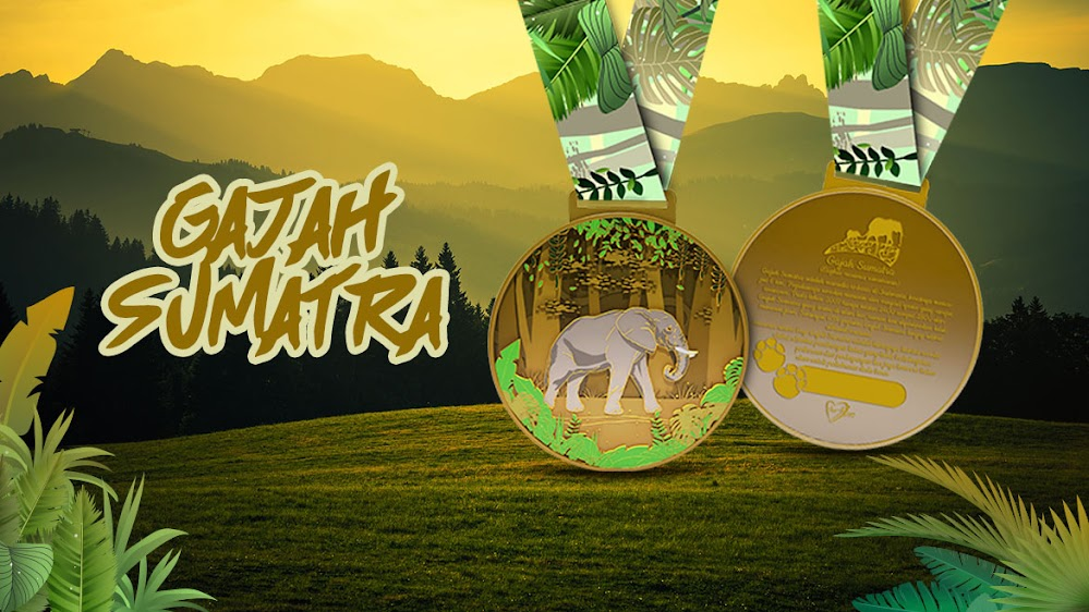Gajah Sumatra Virtual Run • 2019
