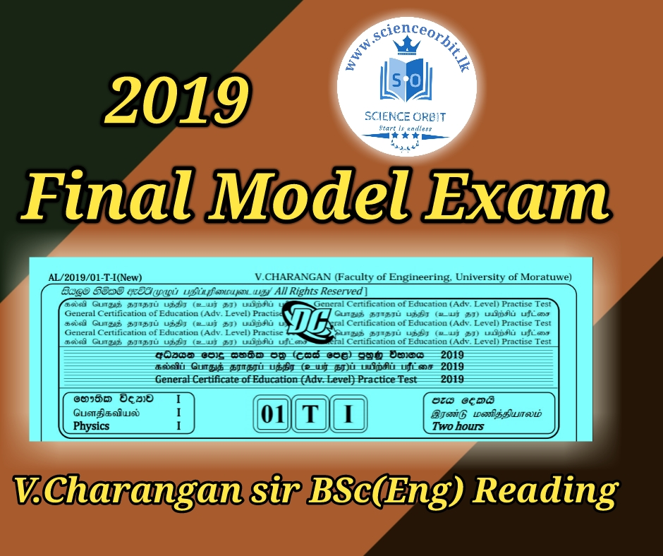 PHYSICS_FINAL MODEL EXAM PAPER & SCHEME 2019 By: V Charangan BSc