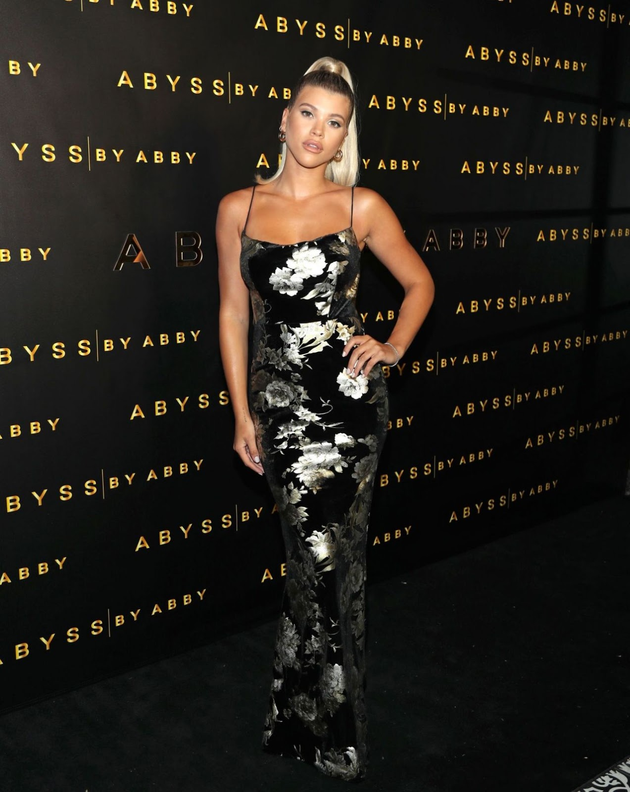 Sofia Richie shows off slender torso at the Abyss by Abby launch in LA