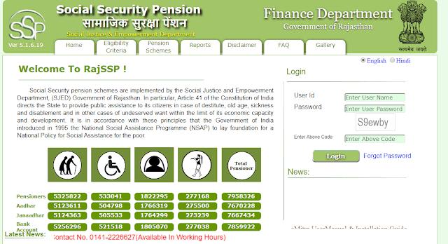 RAJSSP Portal