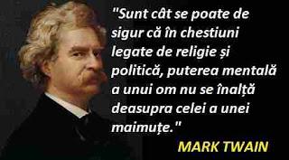 Mark Twain: Citate despre politică românească