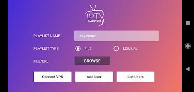 تطبيق IPTV Smarters Pro للأندرويد, IPTV Smarters Pro apk, تطبيق لمشاهدة القنوات المشفرة و المفتوحة بالمجان