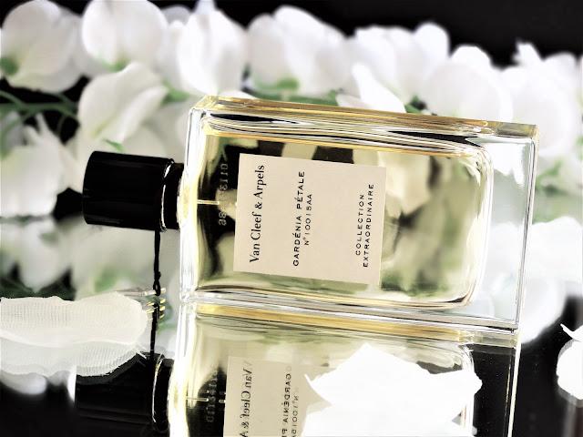 avis gardenia petale van cleef arpels, parfum gardenia petale, collection extraordinaire van cleef arpels, gardenia petale perfume review