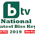 B TV National Biss key 2019