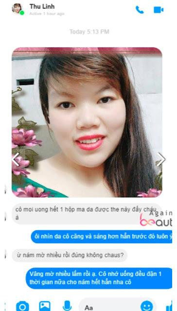 vien sui Again Beauty review tu khach hang da su dung