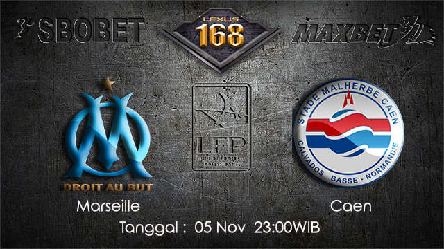 PREDIKSIBOLA - PREDIKSI TARUHAN BOLA MARSEILLE VS CAEN 5 NOVEMBER 2017 (Ligue 1)