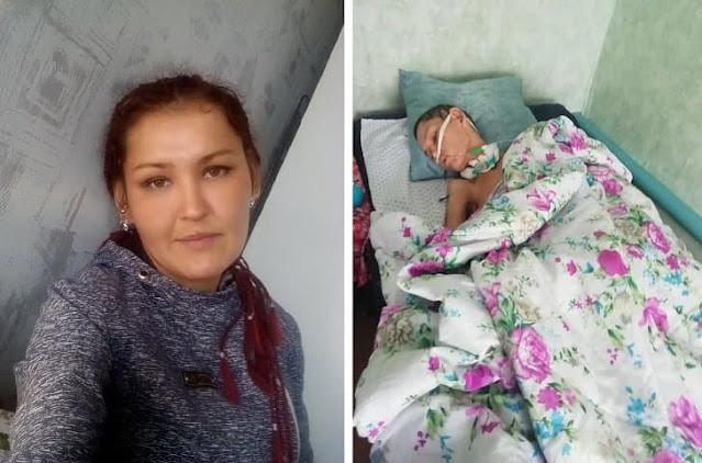 Избитая в Башкирии молодая мать скончалась в больнице после трех месяцев комы