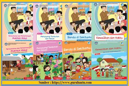 Buku Paket K13 Revisi Terbaru Kelas 3 SD/MI Semester 1 dan 2 [Lengkap]
