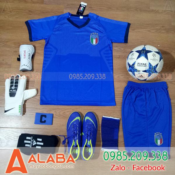 Áo đội tuyển Ý màu xanh super fake