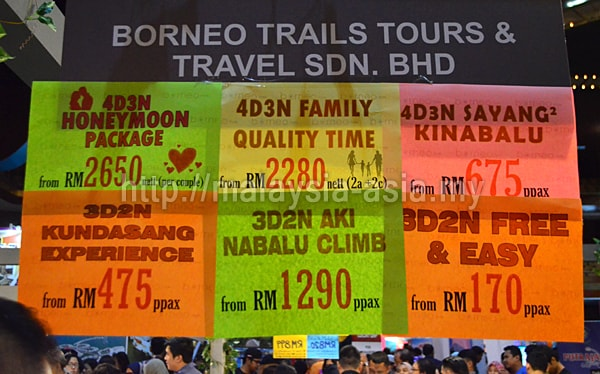 Travel Package for Sabah 2018