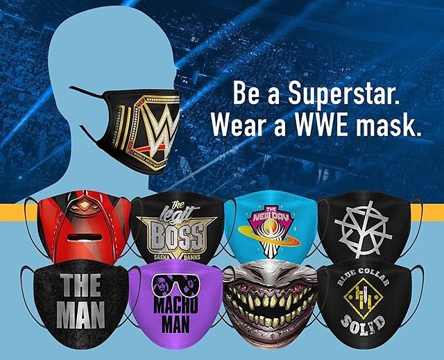 WWE use their fines to enforce new Corona Virus mask policy